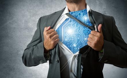 Technology super hero