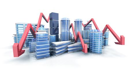 Baisse prix immobilier