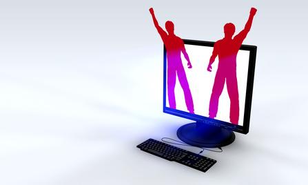 Internet revolution concept