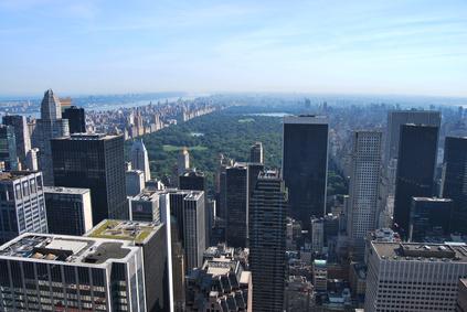 Vue sur Central Park, New York